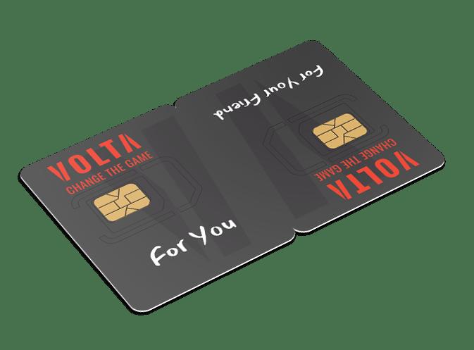 Twin Sim Card - Volta Mobile