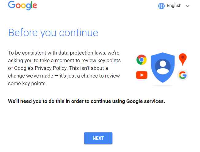 Google's Data Privacy Policy